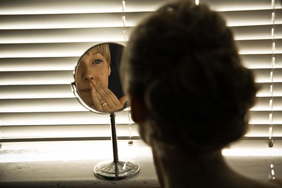 Agnieszka robi makijaż