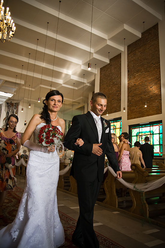 Daniel i Kaśka po ślubie