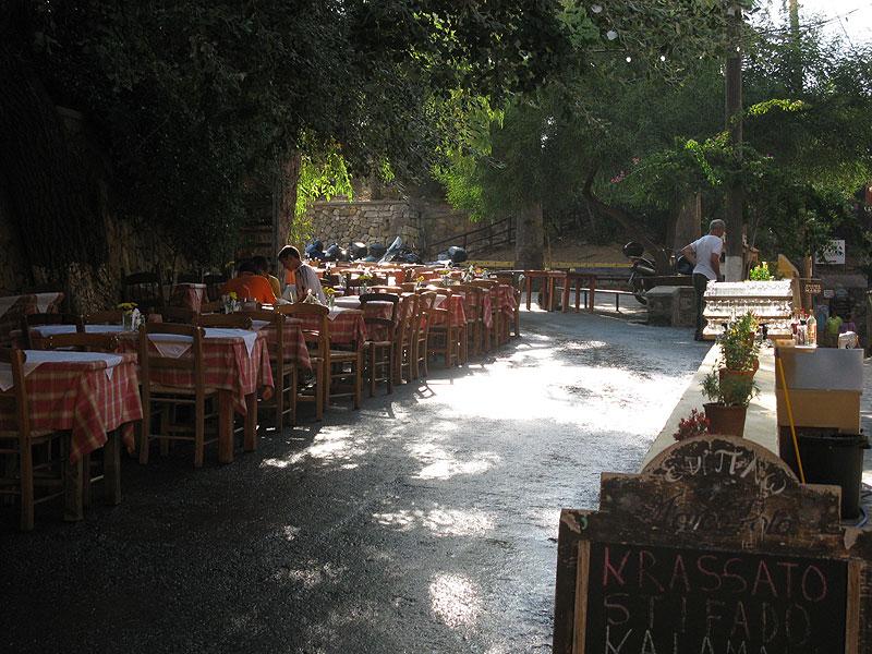 Chania taverny