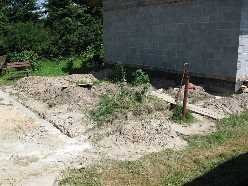 Fundamenty pod garaż WB-3394