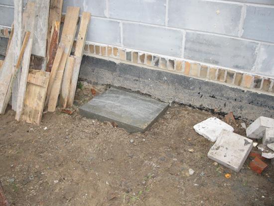 Bloki pod filary wspierające