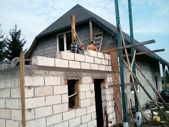 Rusztowania do komina