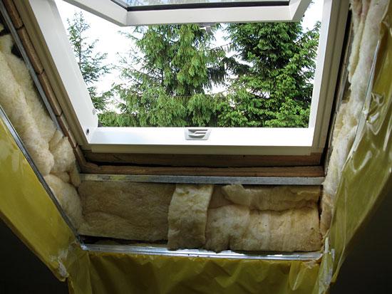 Okno dachowe łazienkowe - Fakro