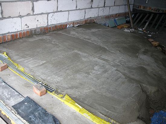 Zanim padła betoniarka