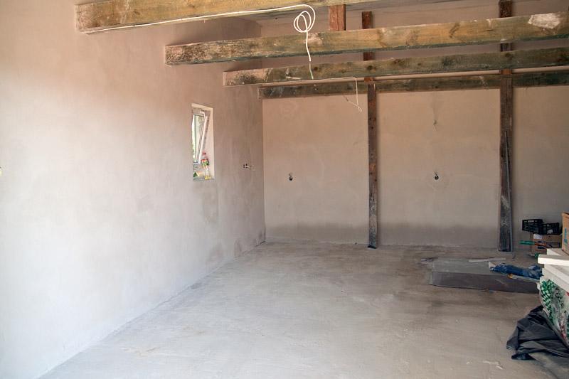 Tynki - Garaż