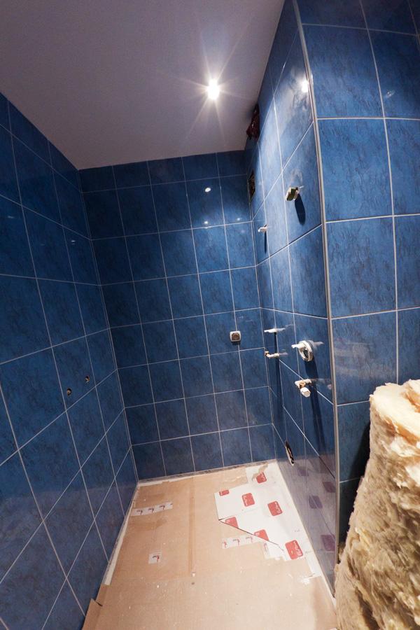 Sufit podwieszany w łazience