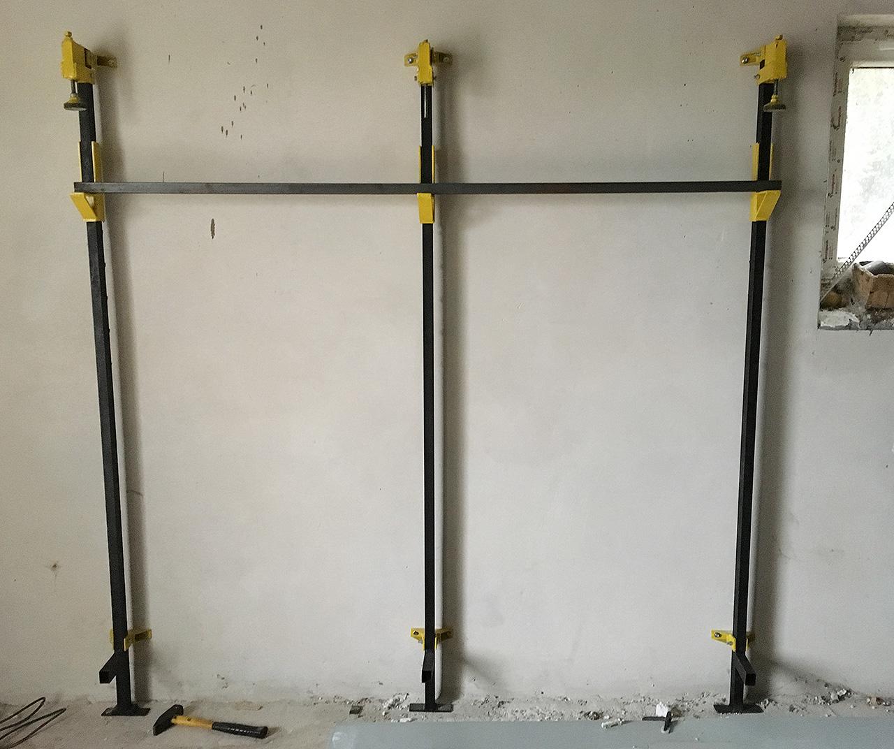 Ściski stolarskie mocowane do ściany